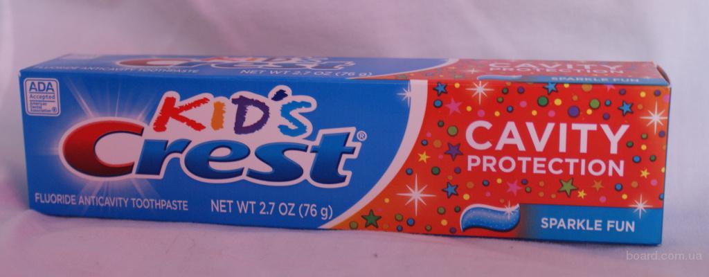 Детская зубная паста Crest Kids Sparkle Fun -76гр. , 170гр. - оригинал USA