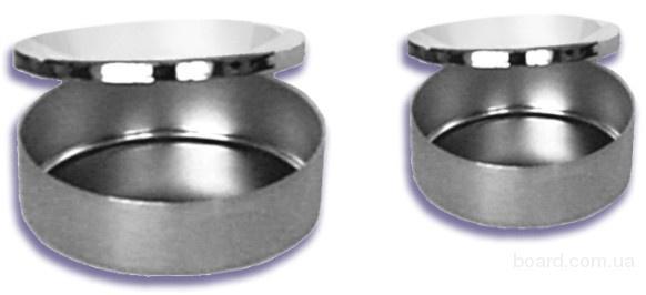 Чашки Петри металлические (лотки стоматологические с крышкой) ЛСК