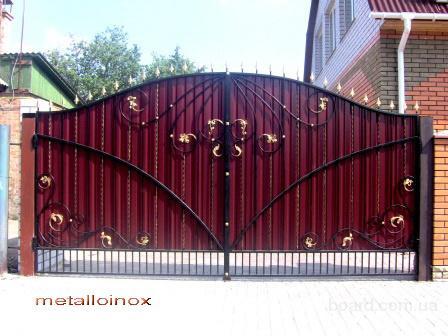 Кованые ворота, калитки, решетки на окна, лавочки, оградки ...: http://www.board.com.ua/m0812-2000739317-kovanyie-vorota-kalitki-reshetki-na-okna-lavochki.html