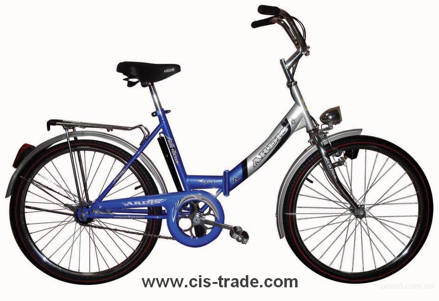 Складные велосипеды - самый распространенный у нас в стране тип велосипеда.  Зарубежные фирмы сегодня предлагают...
