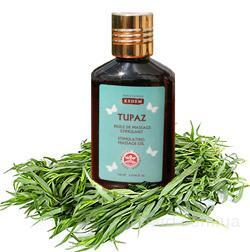 Стимулирующее массажное масло Тупаз