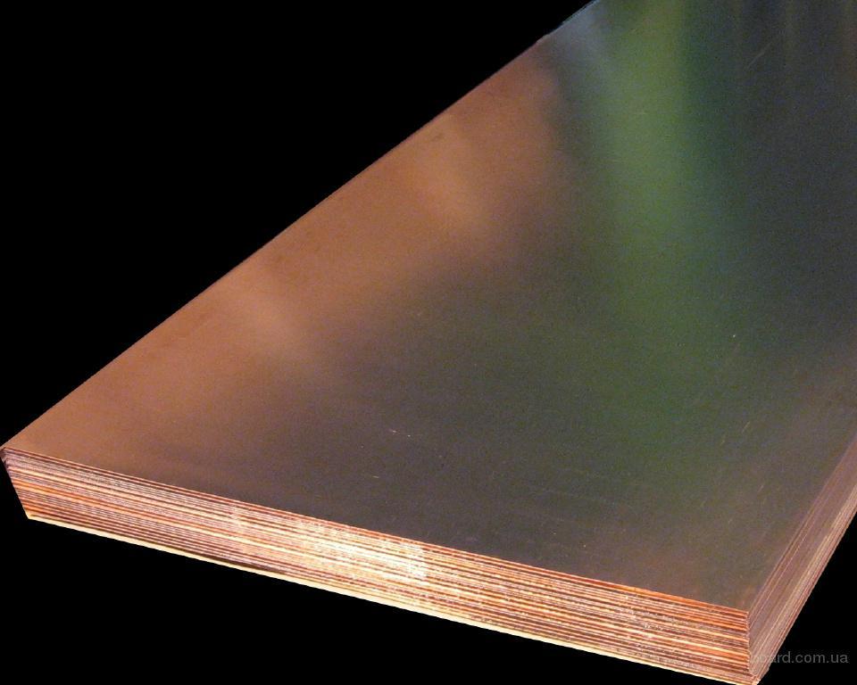 листы, плиты медные от ПАО Артемовский завод по обработке цветных металлов