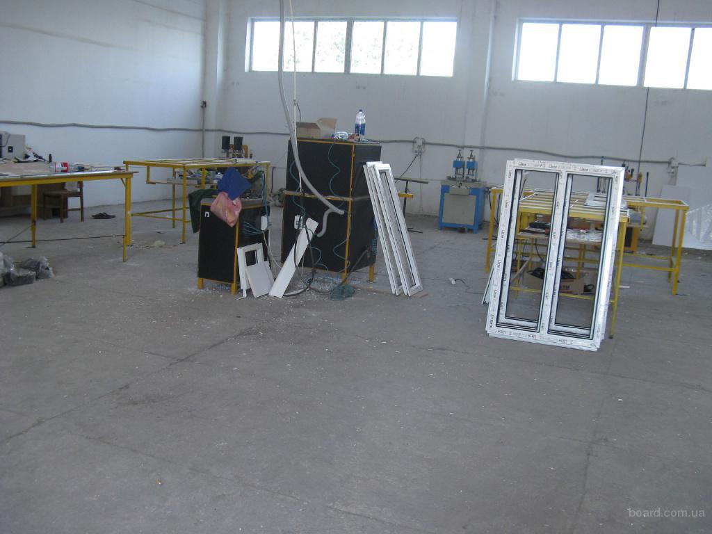Продается отлаженная действующая линия по производству ПВХ конструкций, можно с комплектами фрез и цулаг для профилей...