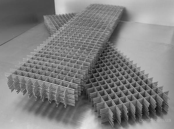 Сетка Кладочная Киев,  сетка рифленая – канилированная (для вольеров, заборов, оград),  сетка тканая