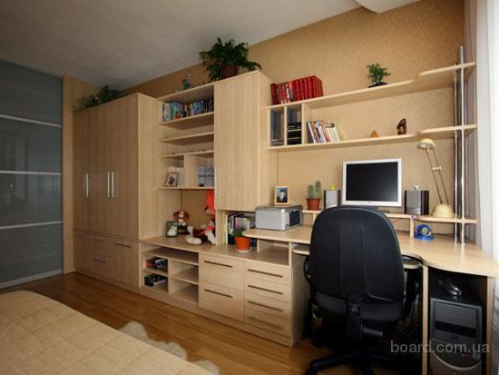 Мебель для детских и подростковых комнат под заказ Киев