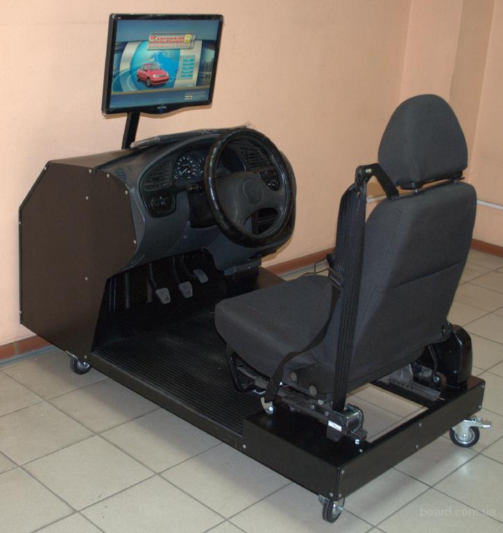 автотренажер легкового автомобиля «ЗАЗ Ланос» Z-122