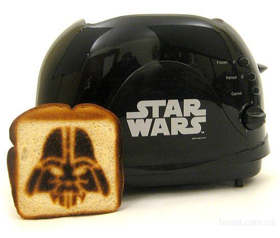 Тостер Дарт Вейдер Звездные Войны Star Wars Darth Vader новый