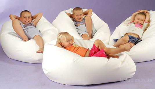 Мягкая бескаркасная мебель от производителя кресла-мешки Нашивка логотипов