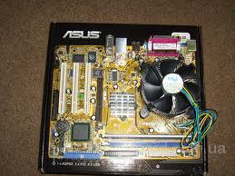 Материнская плата asus p5ld2-vm DDR2/s775 + Celeron 3.2