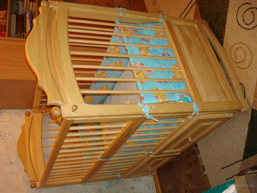 Сделать детскую кровать своими руками из дерева