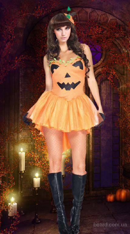 Карнавальный костюм очаровательной Тыквы на Хэллоуин