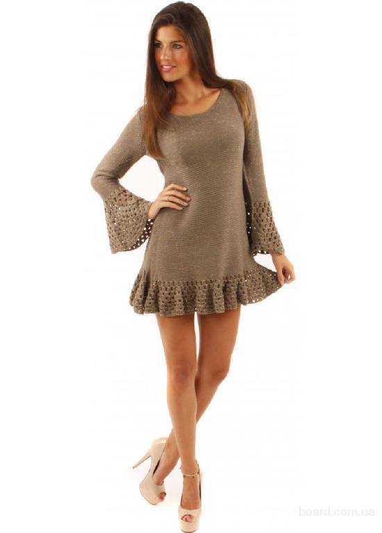 Вязаное платье Тирамису