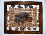 Эксклюзивные подарок, картины из винных пробок ручной работы