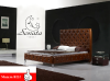 """Кожаная кровать, различные цвета, огромный выбор моделей. Немецкий производитель """"Sonata Mobel""""."""