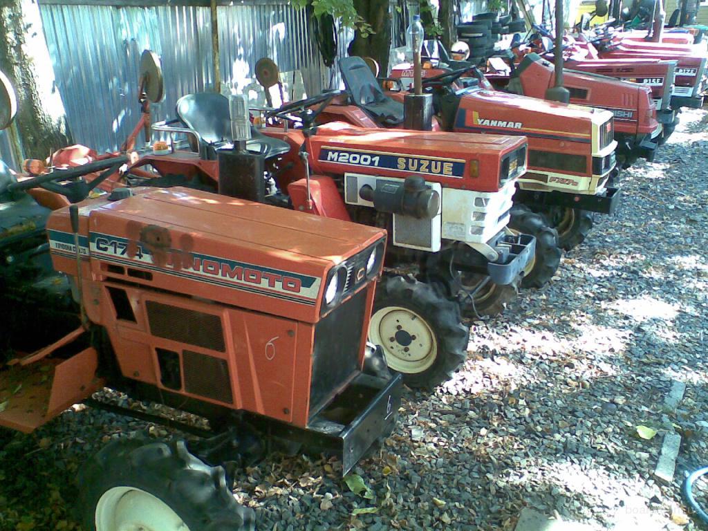 Тракторы бу kubota iseki yanmar mitsubishi shibaura