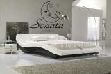 Кожаная кровать, современный дизайн, высокое качество, множество стилей, красный, белый, черный цвет. Купить