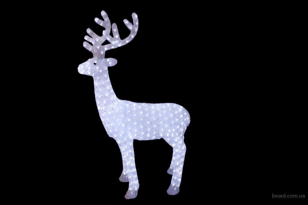 Мотивы новогодние, гирлянды фигуры, светодиодная звезда, снежинка LED