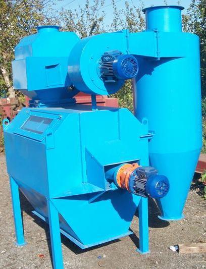 Новый Скальператор зерна с аспирационной  системой СКБЗ-50,  СКБЗ-100