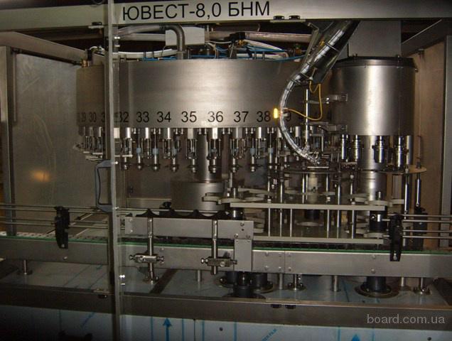 Оборудование для розлива. Линия розлива воды, кваса, газированных напитков, пива, масла, айрана