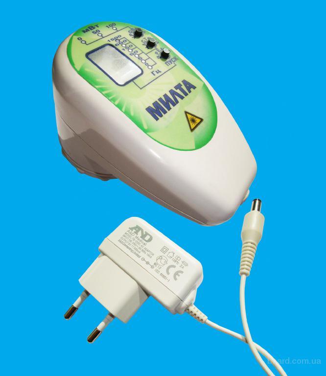 Милта-Ф-5-01  5-7 Вт Аппарат лазерной терапии  со встроенным аккумулятором