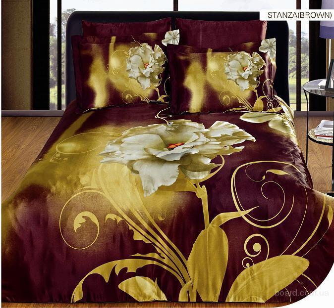 Акция! Купи комплект постельного белья Arya Шелк с рисунком и выбери себе подарок.Доставка бесплатно