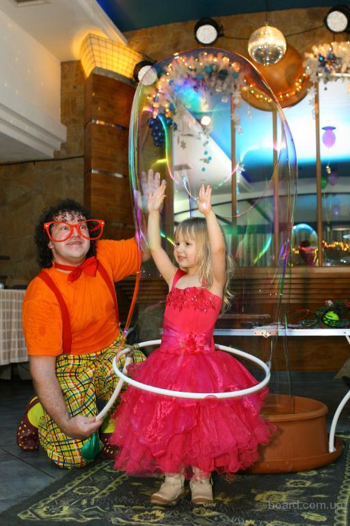 Заказать шоу мыльных пузырей цена