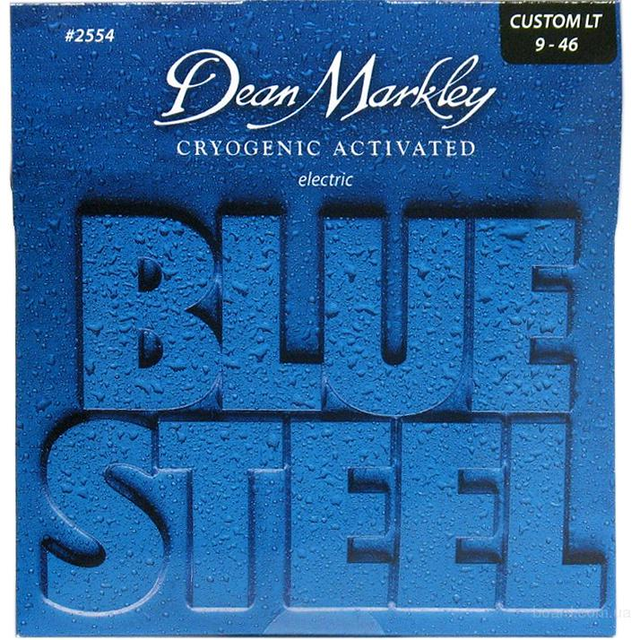 Струны Dean Markley 2554 Blue Steel Custom Light  9-46 Вся Украина